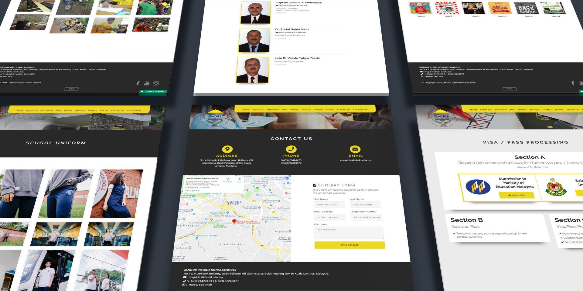 alnoor-website-layout
