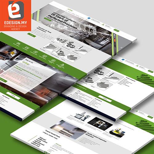 pcd tooling website design
